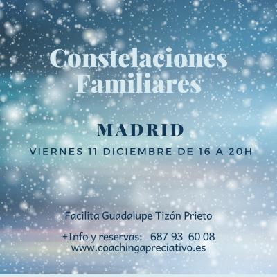 Taller de Nuevas Constelaciones Familiares : Cerrando 2020. El 11 de Diciembre en Madrid